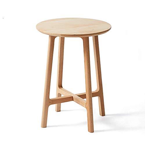 Home Beistelltische Nordic Massivholz Kreative Nachttisch Möbel Japanischen Stil Einfachen Holztisch Kleinen Teetisch Computer Ecktisch, BOSS LV, Holzfarbe
