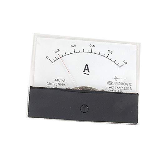 X-DREE 44L1-A AC 1A Hochleistung Rechteckpanel Analoger Stromzähler Amperemeter(3b1-40-ff-17f)