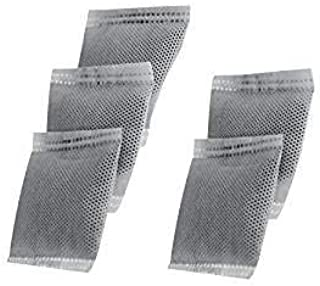 Life Basis Distiller Carbon Filter Bags Activated Charcoal Filter for Water Distillers Pure Water and 5 Pack (Black)