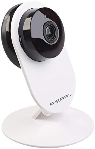 PEARL Funkkamera ohne WLAN: Full-HD-IP-Kamera, Bewegungserkennung, Nachtsicht & microSD-Aufnahme (Überwachungskamera ohne Internet)
