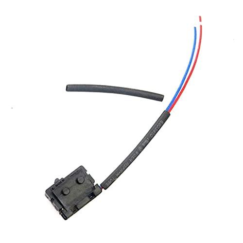 DHTENG® Cerradura de Puerta Derecha Izquierda Micro Interruptor de Cables Tubería de...