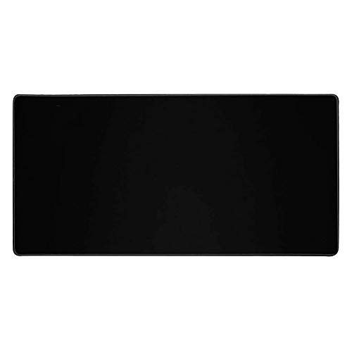 "Large Gaming Mouse Pad Extended Mouse Mat Non-Slip Rubber Base Mousepad Desk Mat Keyboard Pad with Stitched Edge for Laptop Notebook Computer Desktop PC Gamer Office & Home (31.4"" x 15.7"" Black)"