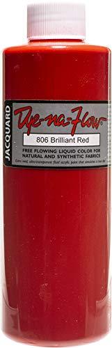 Jacquard Products Jacquard Dye-Na-Flow Liquid Color 8oz-Brilliant Red