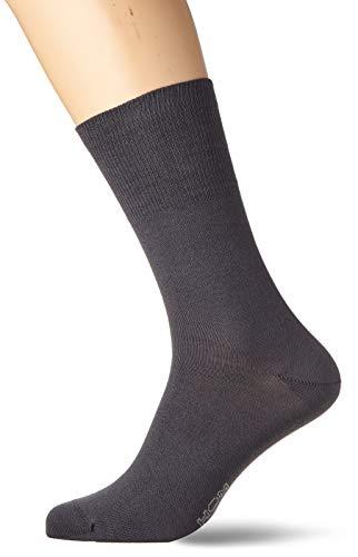 HOM Herren Coton Modal One Size Socken, Grau (Anthracite Z098), (Herstellergröße: Oversize)