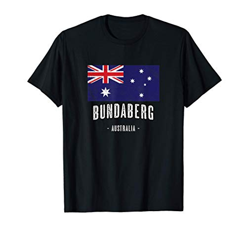 Stadt von BUNDABERG Australien | AU - Australische Flagge - T-Shirt