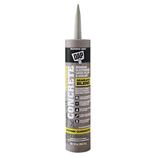 DAP 7079808676 Concrete Filler, Textured Gray, 10 Ounces