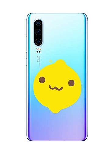 Suhctup Funda Compatible con Huawei P9 Lite Transparent,Carcasa Protección Silicona Gel TPU Bumper Moda Dibujos Protector Piel Ultra Pulgadas Anti Choques Estuche Case para Huawei P8 Lite(2)
