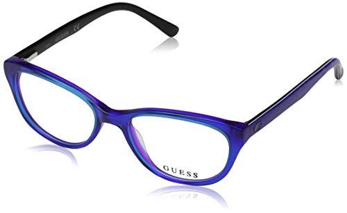 Guess GU9169 092 48 Montature, Blu, Unisex-Adulto