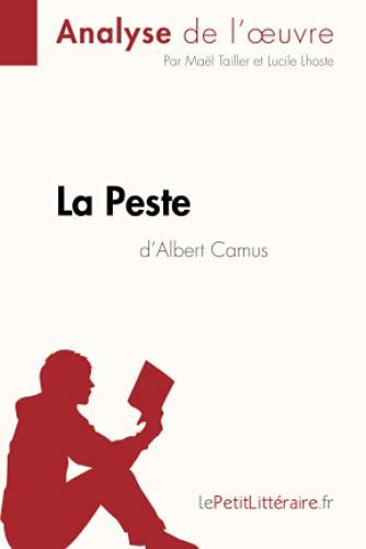La Peste d'Albert Camus (Analyse de l'oeuvre): Comprendre la littérature avec lePetitLittéraire.fr