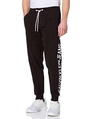 Calvin Klein Jeans Vertical Logo HWK Pant Survêtement, CK Noir, 27-32 Homme