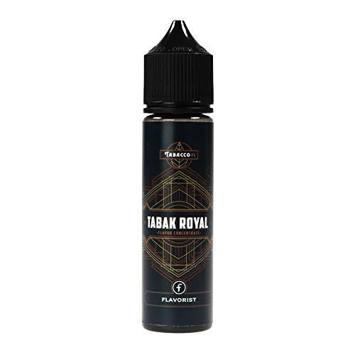 Flavorist Aromakonzentrat Tabak Royal, Shake-and-Vape zum Mischen mit Basisliquid für e-Liquid, 0.0 mg Nikotin, 15 ml
