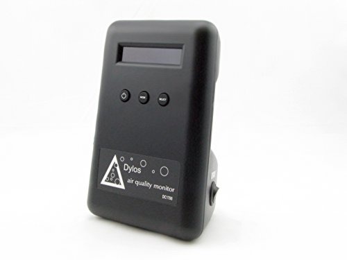 DC1700 Battery Operated Air Quality Monitor w/Accessories