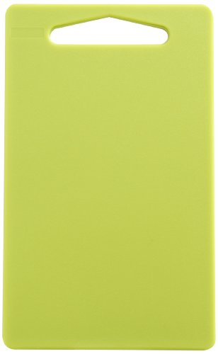 "Linden Sweden Anita Cutting Board with Handle - Safe for Meat and Produce, Won't Dull Knives - Slim, Lightweight Design for Easy Storage, Dishwasher-Safe, Lime Green, Small - 9,25"" x 6"""