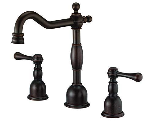Danze D306957BRT Opulence Wasserhahn-Verkleidungsset mit zwei Griffen, Ventil nicht enthalten, bronzefarben