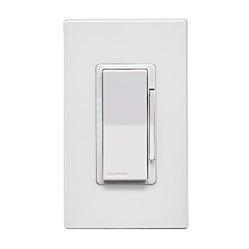 Leviton DG6HD-1BW Decora Smart Dimmer, Zigbee Certified, White