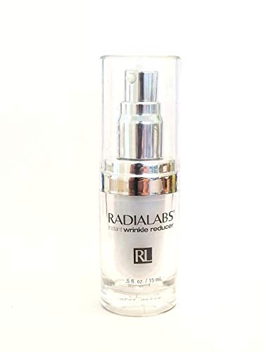 Radialabs   Instant Wrinkle Reducer   Anti Aging Face Moisturizer   .5 oz /15 ml