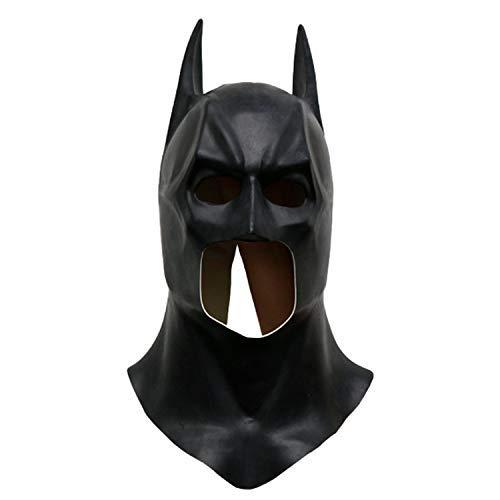 Demostracin Batman Mscara de Halloween Mscara realista mscaras de disfraces for toda la cara de ltex Puntales maquillaje de carnaval de la mascarada Madness - Tamao universal mscaras de hallowe