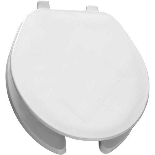 Bemis 75 000 Round Open Front Toilet Seat, White