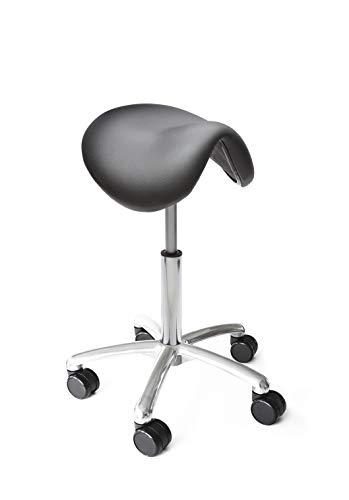 Lanab Group Chaise de Bureau Ergonomique, Noir, S