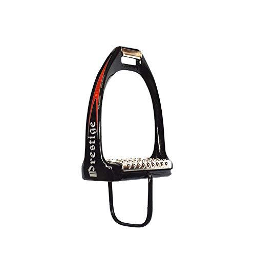 DHTOMC veiligheidsbeugels 1 paar stijgbeugels en paarden paardensportbenodigdheden roestvrij staal paardenstallen benodigdheden volwassen premium profiel stijgbeugels paardrijden loopbanden
