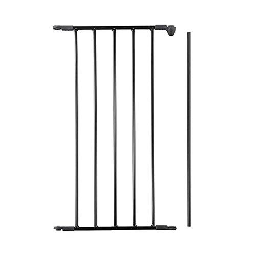 BabyDan Extension de barrière Noir 46 cm