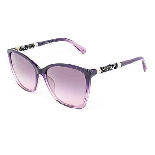 Swarovski SK-0148-81Z Gafas de sol, Morado, 56 para Mujer