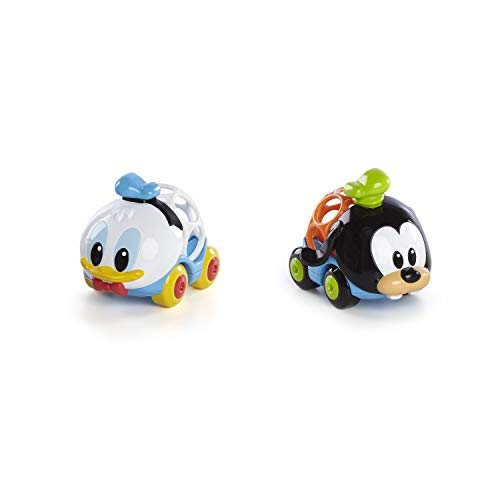 Bright Starts, Disney Baby Voitures de Donald Duck & Dingo - Go Grippers Collection