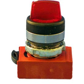 Springer Controls N5CSLD0R 2-Position Illuminated 1-2 Max 52% OFF Max 57% OFF Selector