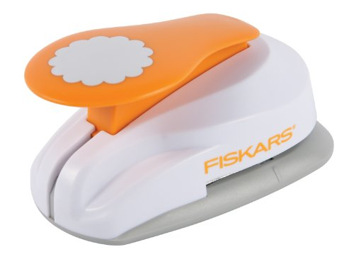 Fiskars 2X-Large Lever Punch, Pretty Scallops