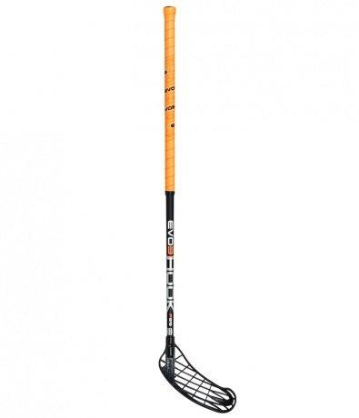Unihoc Floorballschläger EVO3 Hook 29 Floorball Stick Carbon 92-96cm (92cm/Rechtsschuß)
