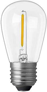 1W 3 Volt S14 LED Light Bulb (E27) Clear in Warm White