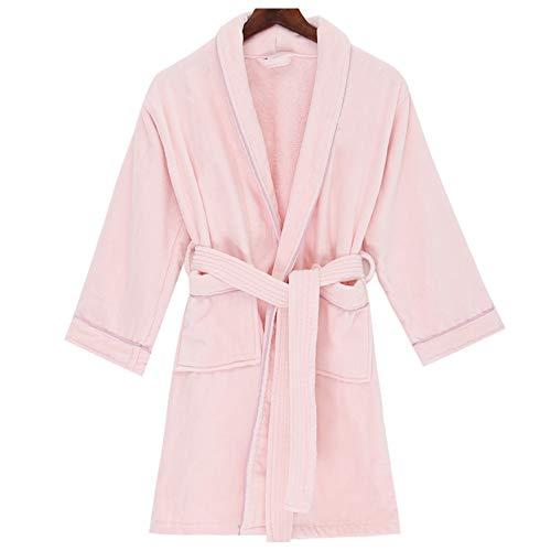 ZZUU Kinderen Dressing Gown Kids Jongens Meisjes Hooded Towelling Badjas 100% Katoen, Gecertificeerd Zonder Chemicals - Kind Badjas, Absorben