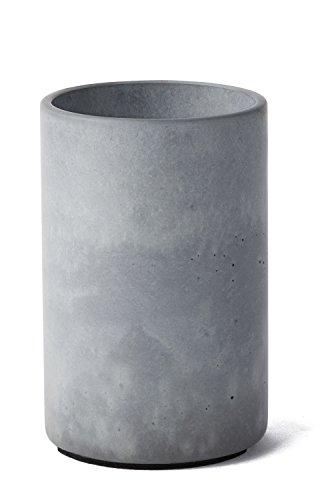 Korn Produkte Flaschenkühler Solid für Wein- oder Sektflaschen aus hochwertigen und feinen Beton gefertigt. Kann auch als Vase oder für Küchenutensilien verwendet Werden