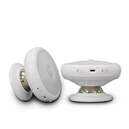 BHQF Lumières de Nuit à Induction LED, 360-degree Spin lumière Nouveaux Cadeaux créatifs Exotiques pour Les Loisirs et Les divertissements en Famille, Chambres d'hôtel