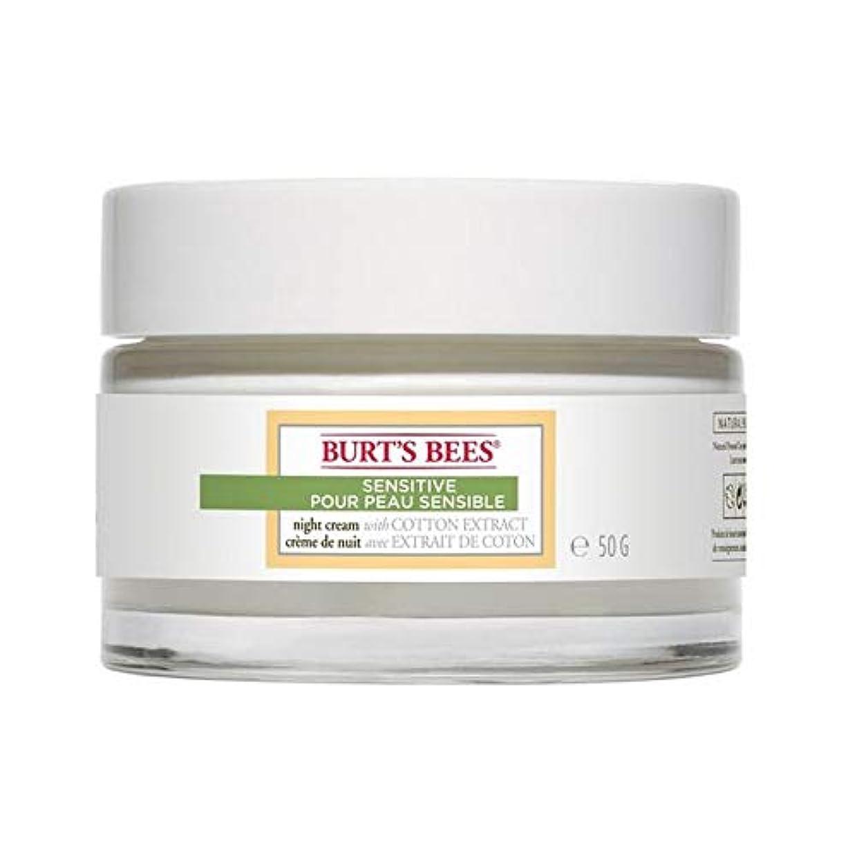 力強いボーナス偶然の[Burt's Bees ] バーツビー敏感ナイトクリーム50グラム - Burt's Bees Sensitive Night Cream 50g [並行輸入品]