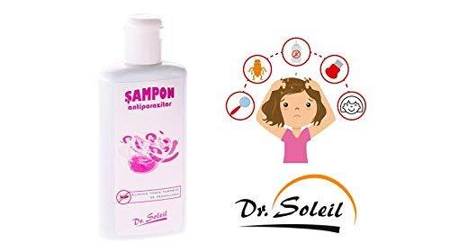 Kopf Läuse und Milben Shampoo | Effektive Lösung Gegen Eier & Läuse | Schnell & Einfach | Angenehm Duftendes Shampoo | 200ml