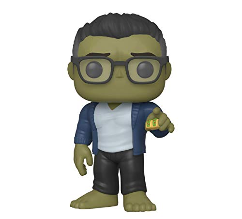 Funko- Pop Marvel: Endgame-Hulk w/Taco Collectible Toy, Multicolor, Standard (45139)