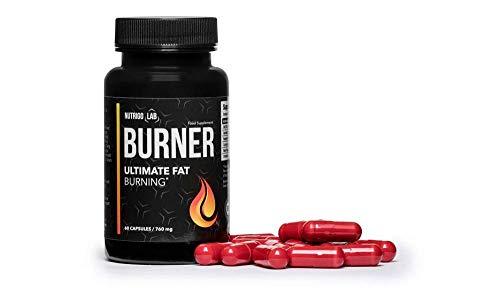 NUTRIGO LAB FAT BURNER, ultimativer Fatburner, gegen Fettdepots, erzeugt Sättigungsgefühl, erhält den Blutzuckerspiegel aufrecht, hochwirksamer Appetitzügler gegen das Naschen! 60 Kapseln