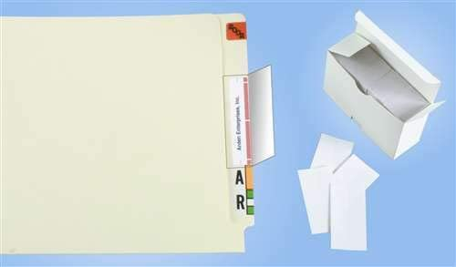 Doctor Regular store Stuff 67% OFF of fixed price File Folder Labels Protectors 1-3 4