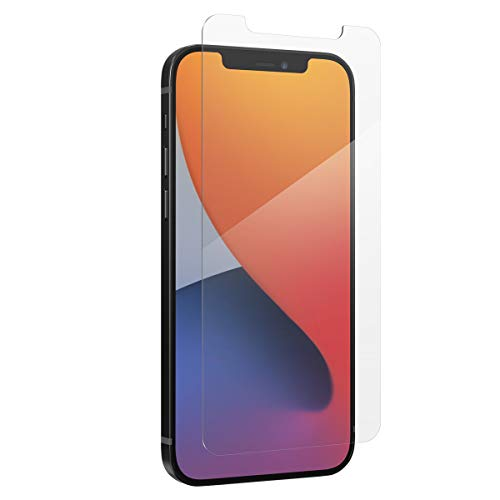 ZAGG InvisibleShield Glass Elite VisionGuard Plus - Massima protezione con tecnologia Kastus antimicrobica e filtro luce blu per Apple iPhone 12 Pro Max