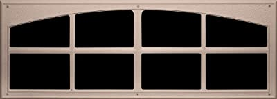 Coach House Accents 45.75-Inch by 16.75-Inch Signature Décor Windows for Garage Doors