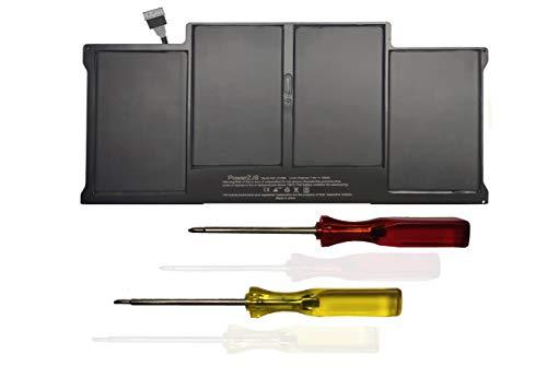 """Batería de Repuesto para McaBook Air 13"""" A1496 A1377 A1405 (A1466 Mediados de 2012 Mediados de 2013 Principios de 2014 Principios de 2015)A1369(Mediados -2010/2011Version) [7.6V 54.4Wh]"""