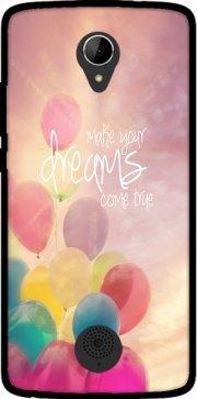 Mobilinnov Make Your Dreams Come True Funda de TPU para Acer Liquid Zest 528 - Accesorios