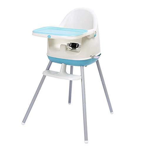 Shiwen Yuzhijie silla de comedor de bebé asiento de niño multifuncional ajustable silla de comedor portátil bebé comedor mesa y silla, A