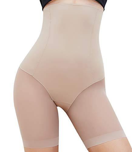 MISS MOLY Moldeadora Braga Faja Reductora Adelgazantes Braguita Moldeadora Cintura Alta Pantalones Body Moldeador sin Costuras Body Shaper Elástico Cómodo Lenceria para Mujer