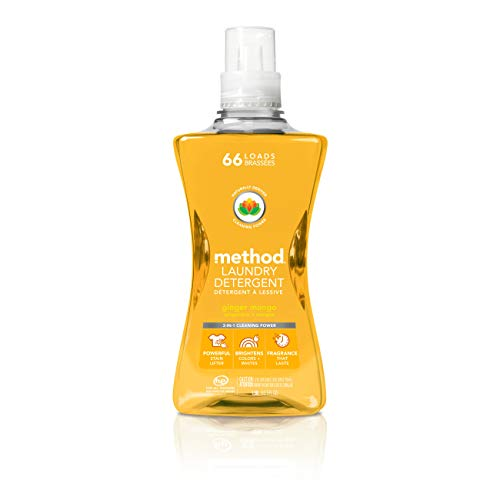 Product Image of the Method Laundry Detergent, Ginger Mango, 53.5 Ounces, 66 Loads