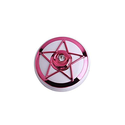 MAJFK Estuche de viaje para lentes de contacto de viaje para gafas invisibles, estuche de lentes de contacto, mini caja contenedor portátil para lentes de contacto, kit de viaje, rojo rosa