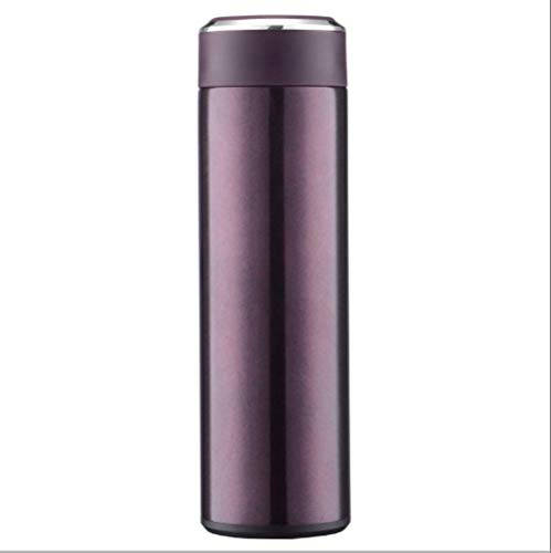 Koude fles, waterfles, dubbelwandig, vacuüm-geïsoleerde roestvrijstalen thermosfles, 12 uur warm, 24 uur koud, voor school, fitness, reizen, buiten, BPA-vrij 5