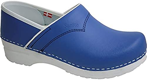 Sanita 810240 313 Flex Clog Lot de de 40 cloches à talon fermé Bleu  magasin fashional à vendre