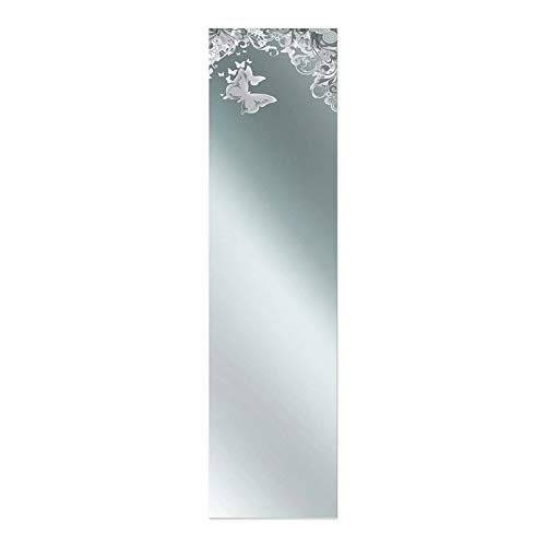 Lupia Specchio da Parete Mirror Reflexion 32X122 cm Butterfly